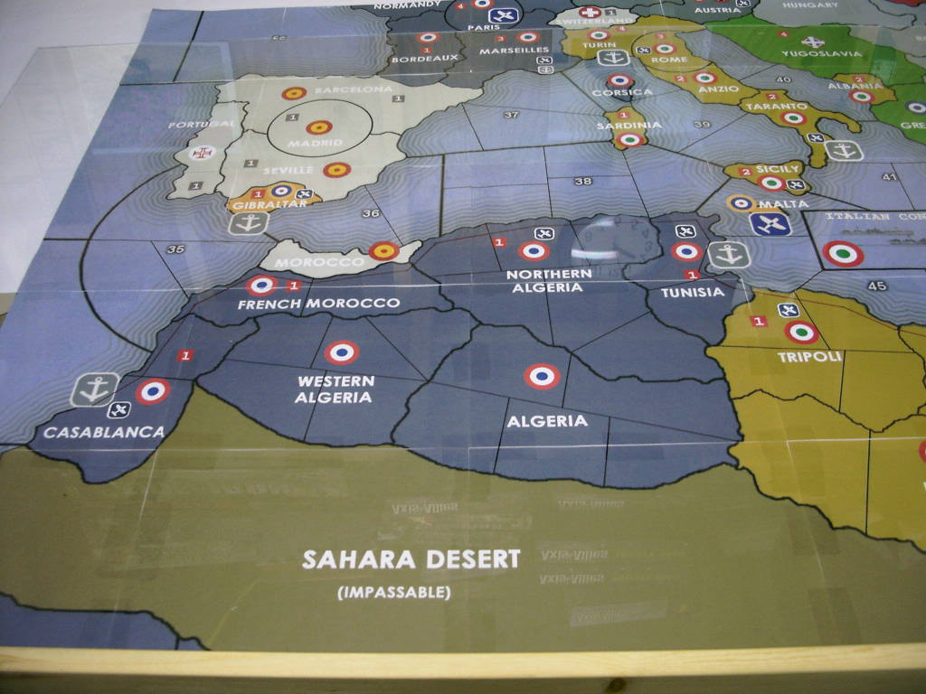 Map Of Africa Games.N Africa Map Axis Allies Org Forums
