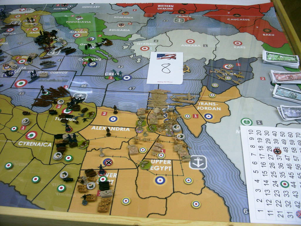 N.Africa map. | Axis & Allies .org Forums