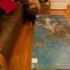 Image: Axis & Allies Europe and Pacific global map coffee table