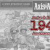 New Game Announcement: Axis & Allies 1941