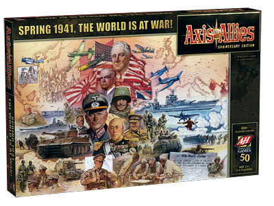axis & allies 50th anniversary