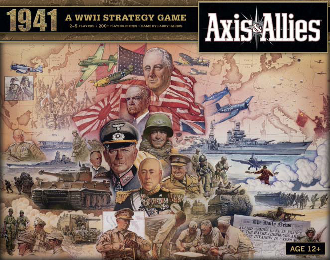 Axis and Allies 1941 box