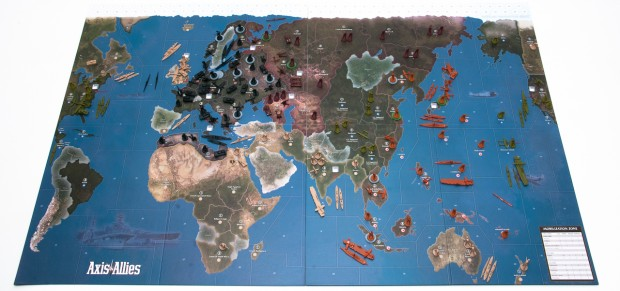 Axis & Allies 1942 2nd Edition Setup