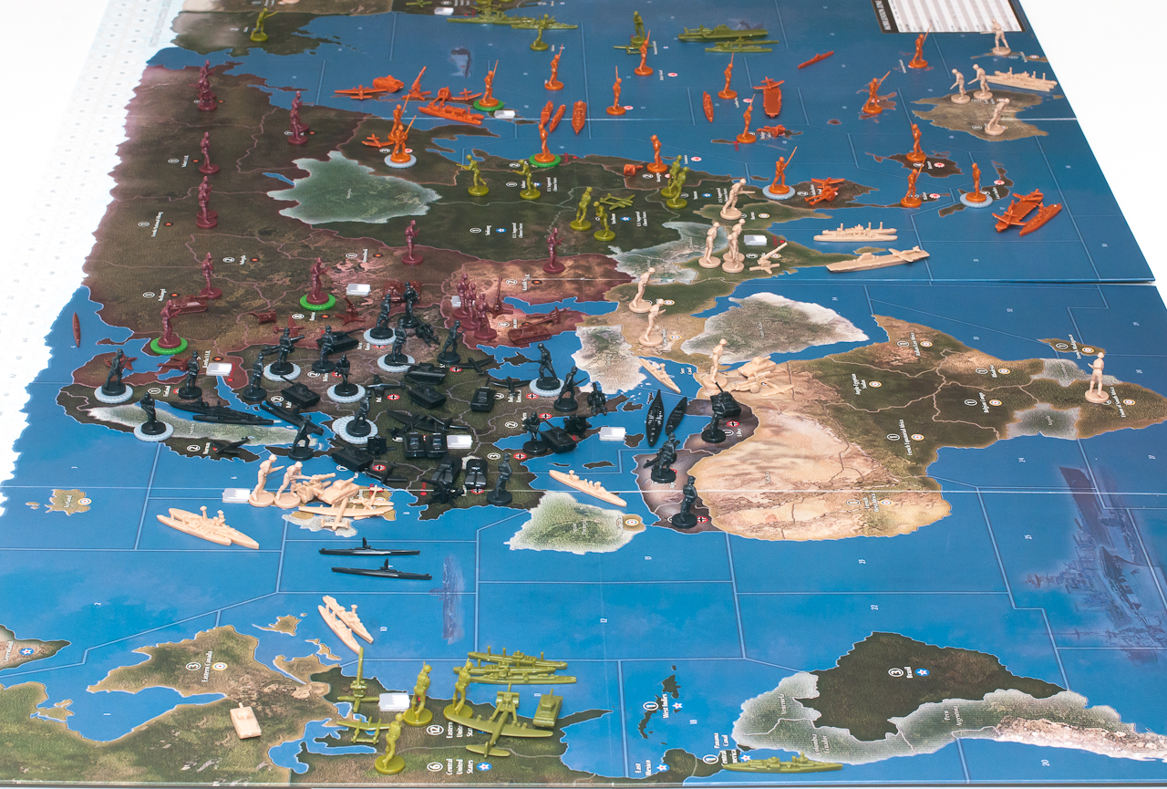 axis and allies  Axis & Allies 1942 Second Edition Game Review | Axis & Allies .org