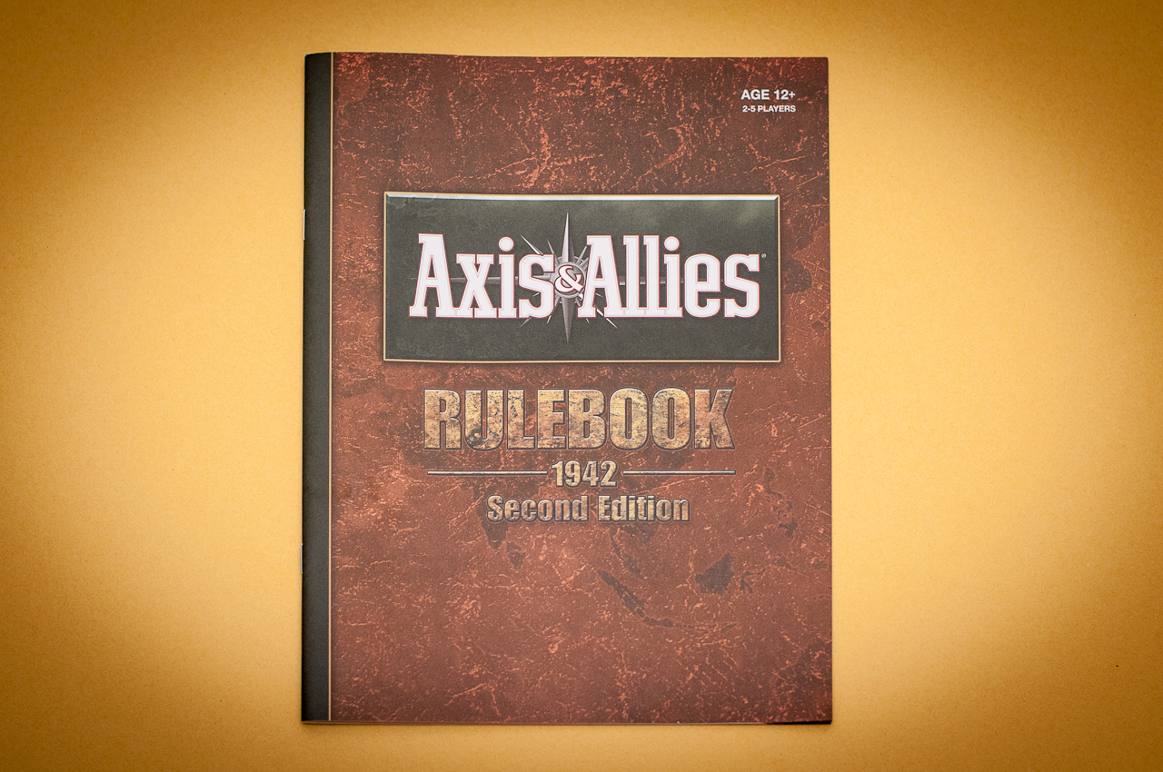axis and allies first edition rules