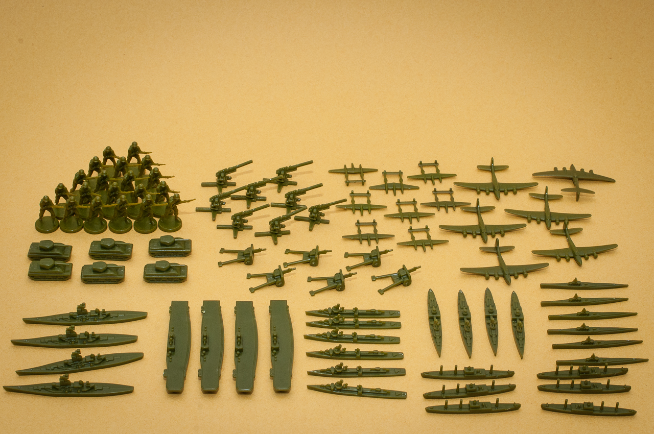 Axis  U0026 Allies 1942 Second Edition Preview  Unit Details
