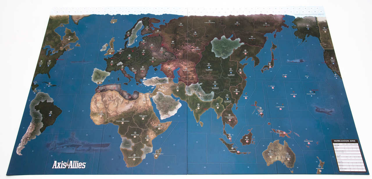 Axis allies 1942 second edition preview map and setup axis tags featured gumiabroncs Gallery