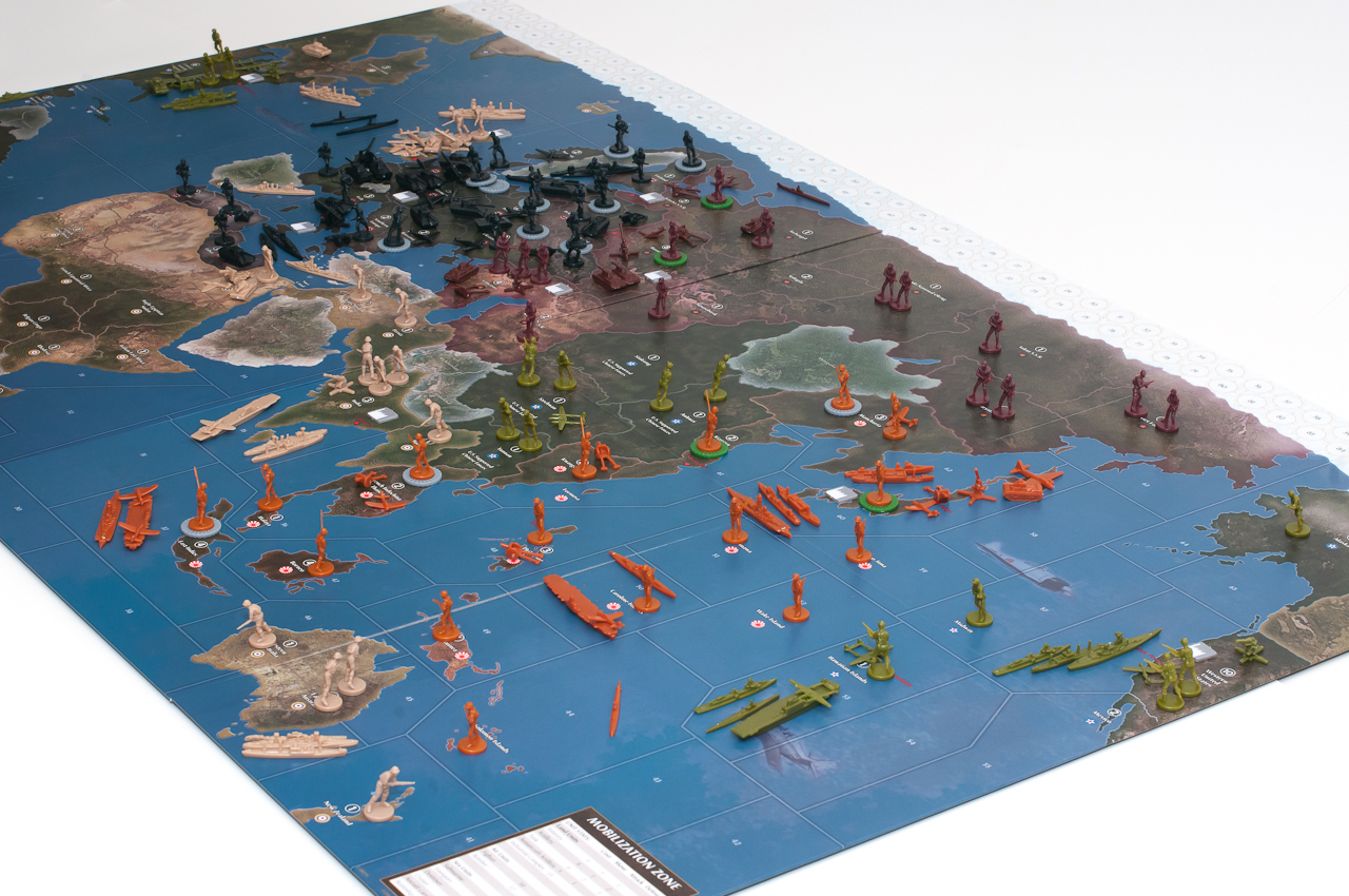 Axis & Allies 1942 Second Edition Preview: Map and Setup