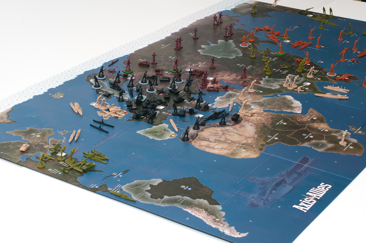 Axis allies 1942 second edition preview map and setup axis in gumiabroncs Choice Image
