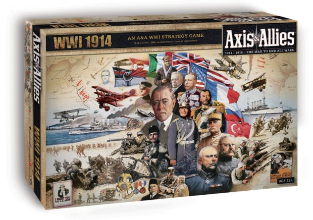 Axis & Allies WWI 1914 Box