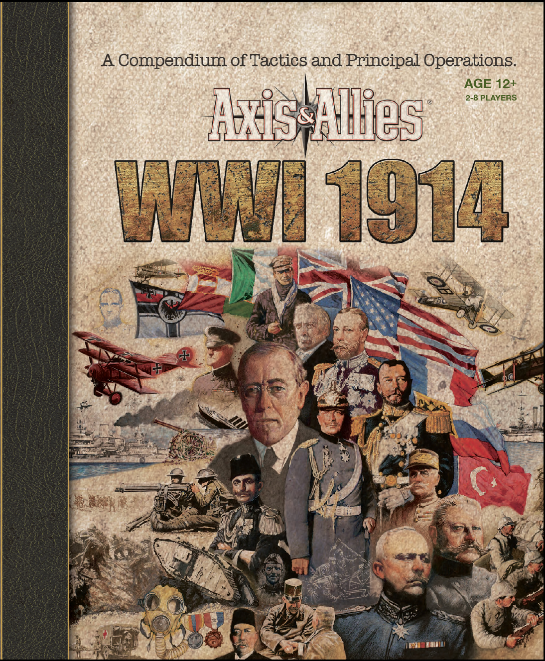 Axis & Allies 1914 Rulebook Cover