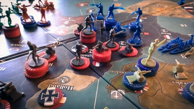 Axis & Allies 1914 in Action