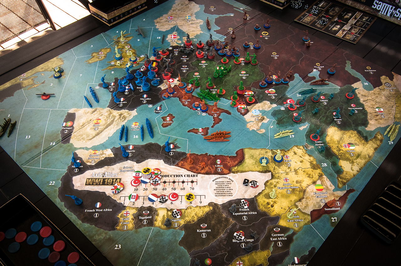 First Impressions of Axis & Allies WWI 1914 | Axis ...