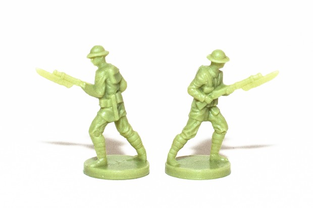 Axis & Allies 1914 British Empire Infantry