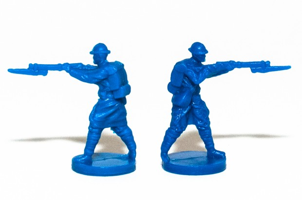 Axis & Allies 1914 France Infantry