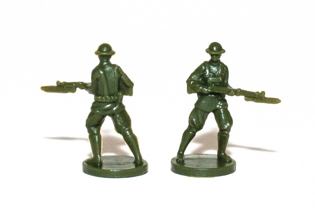 Axis & Allies 1914 USA Infantry