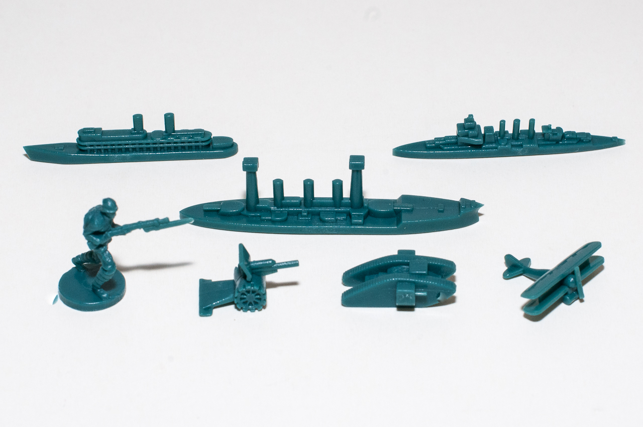 Axis and allies units