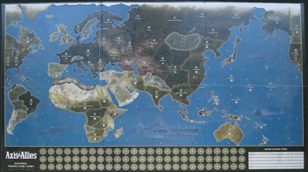 Spring 1942 Map