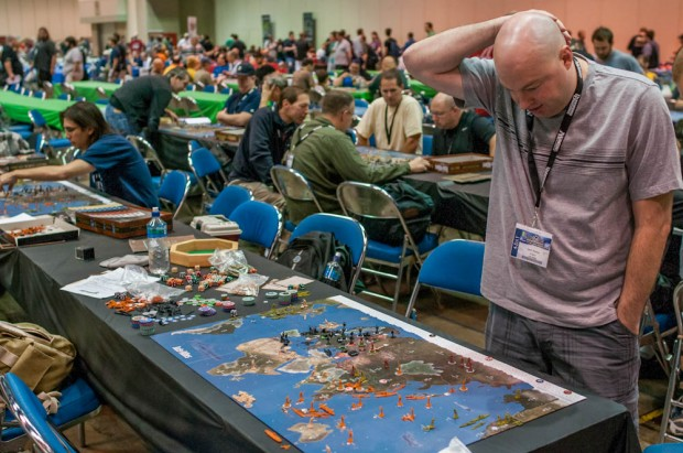 Working on the Next Move: Axis &  Allies 1942 SE Tournament