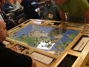 FMGCon2013 - Axis and Allies Anniversary - Custom Table - Saturday