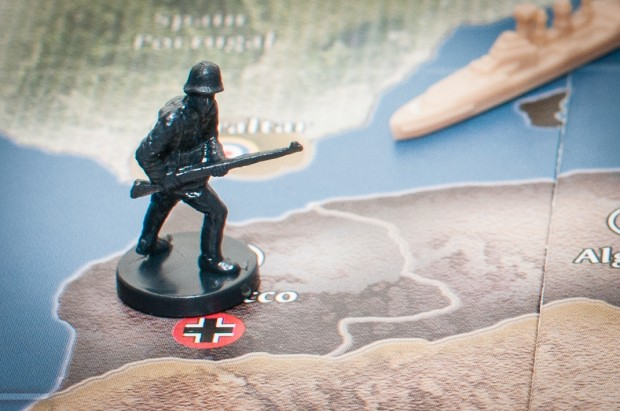 Axis & Allies German infantry in Morocco
