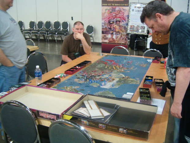 Axis & Allies at Origins 2014