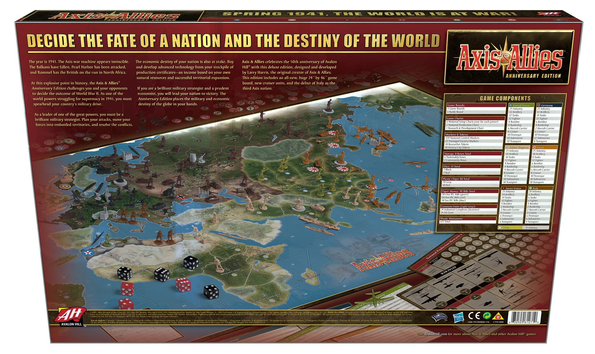 axis allies 50th anniversary edition