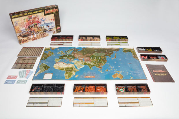 Axis & Allies Anniversary Edition  Board and Pieces