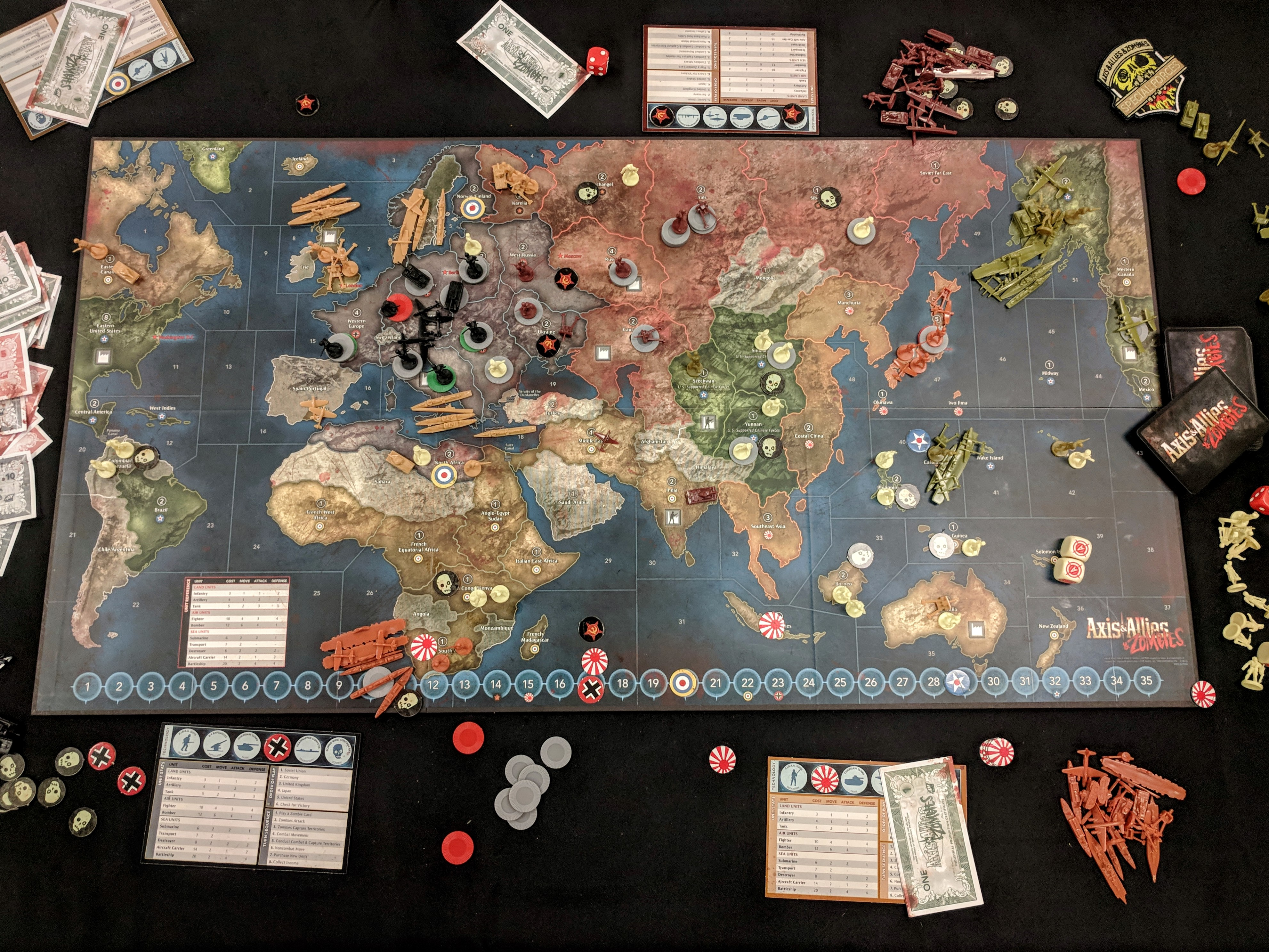 Launch Party: First Impressions of Axis & Allies & Zombies ...