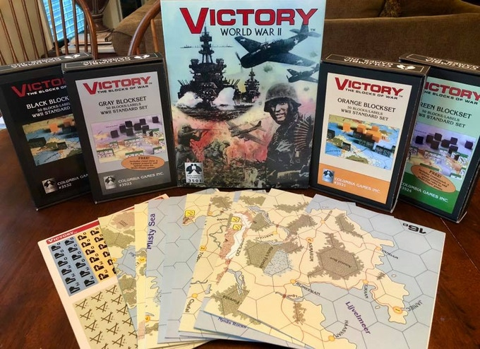 Victory a New WWII Game by Columbia Games   Axis & Allies  org