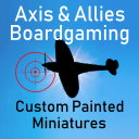 Axis & Allies Boardgaming Custom Painted Miniatures