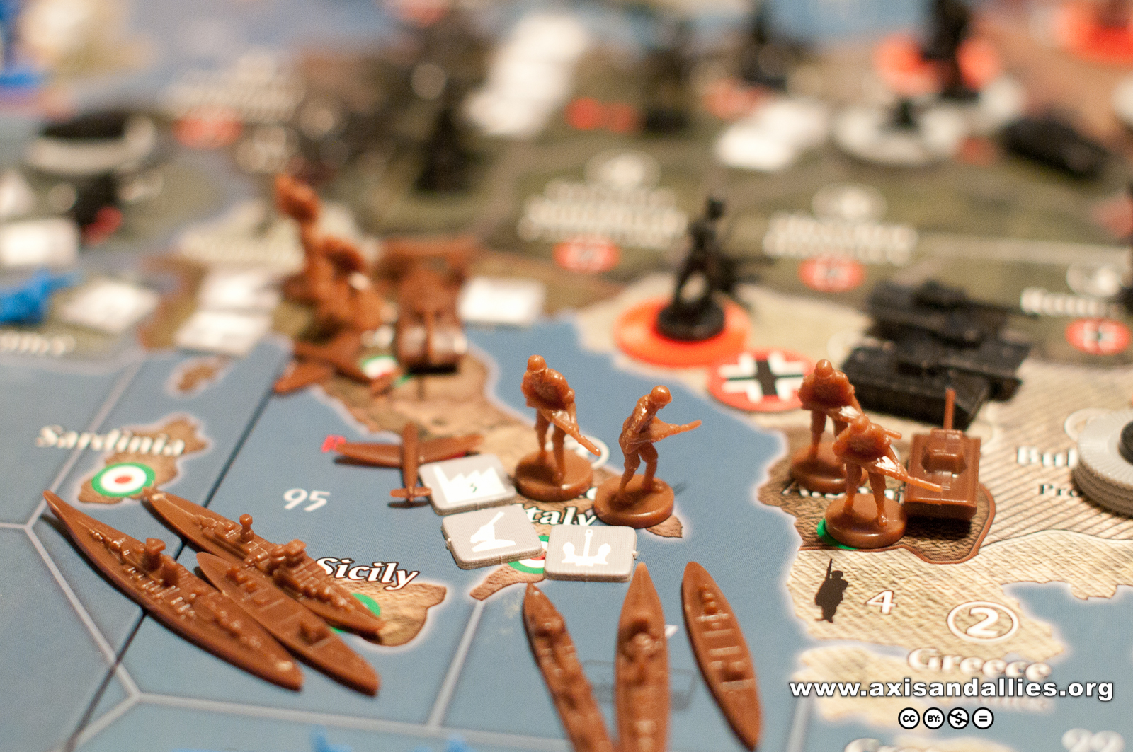 Axis & Allies Europe 1940 in Action 2860