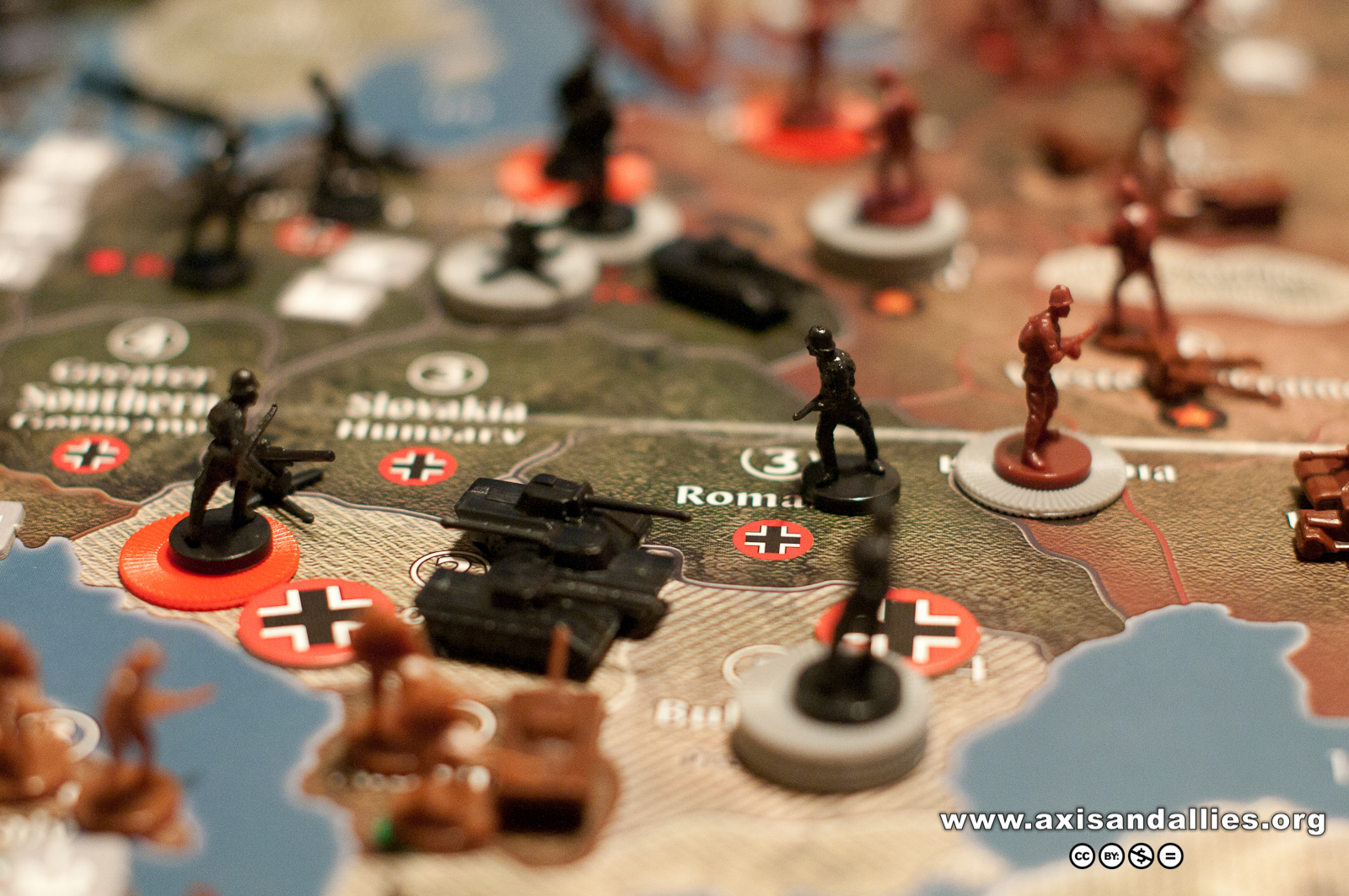 Axis & Allies Europe 1940 in Action 2869