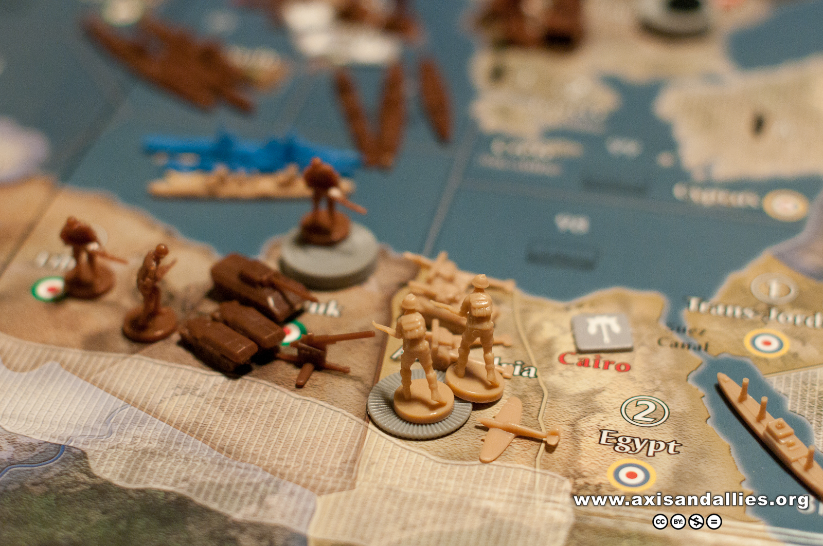 Axis & Allies Europe 1940 in Action 2863