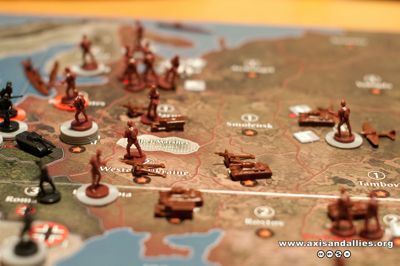 Axis & Allies Europe 1940 in Action 2866