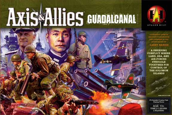 Axis & Allies Guadalcanal Box Cover 2364