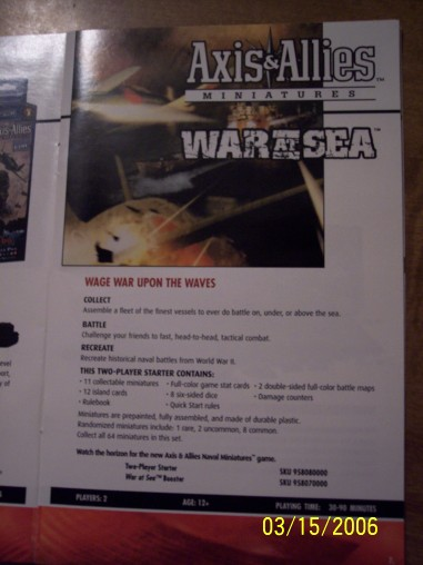 War at Sea 40