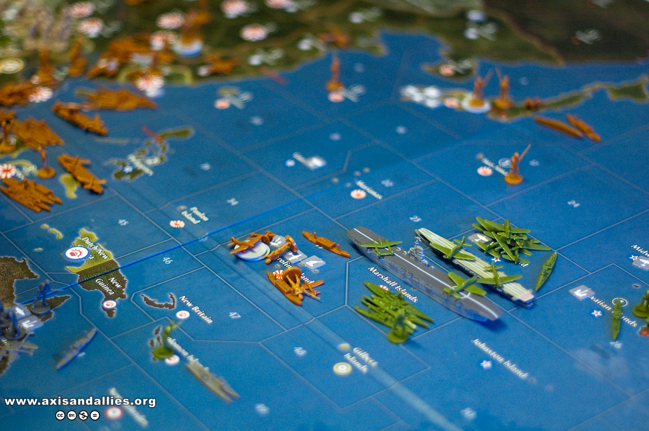 Axis and Allies Pacific 1940: Game in progress 2759
