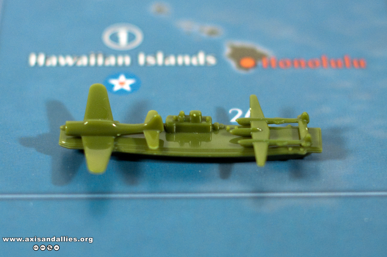 Axis & Allies Pacific 1940 USA Carrier, Tactical Bomber, and Fighter 2773