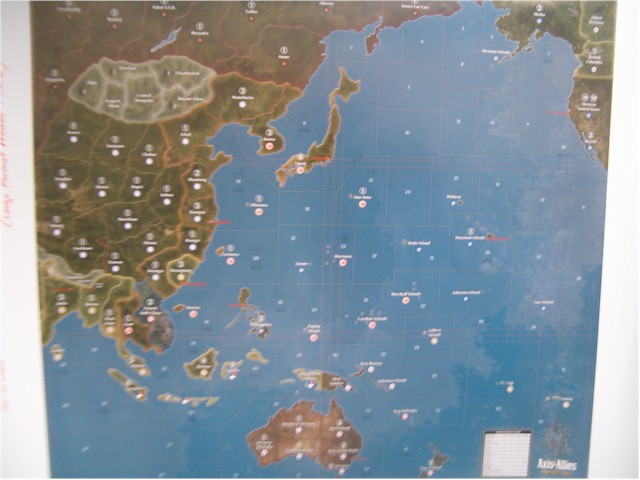 axis and allies pacific map Image Axis Allies Pacific Map 2 Axis Allies Org axis and allies pacific map