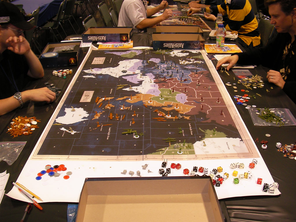 Big Rollout Axis & Allies Map 2317