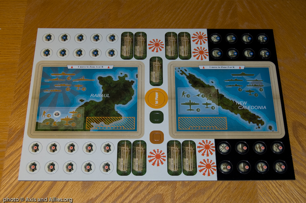 Guadacanal Game Counters Front 2394