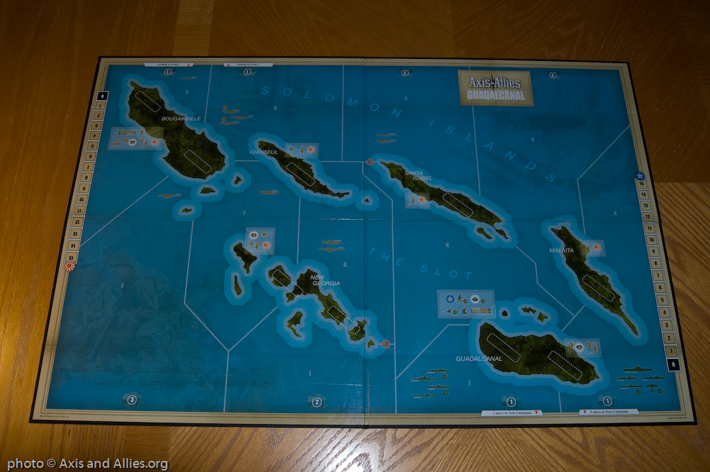 Guadalcanal game board emtpy 2499